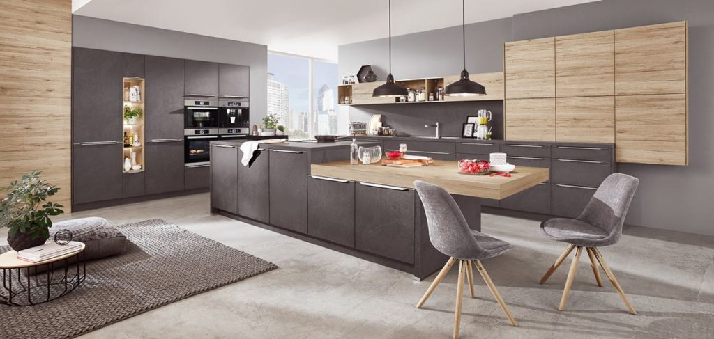 Modern classic kitchens in Stirling