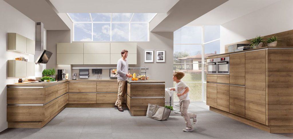 natural living style kitchens in Stirling